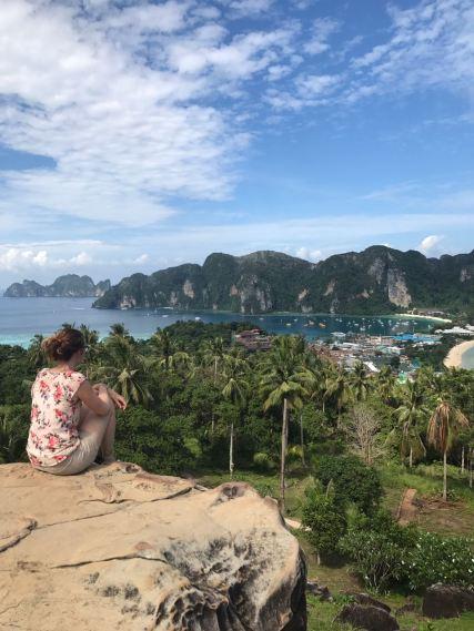 Die Sicht auf Kho Phi Phi genießen