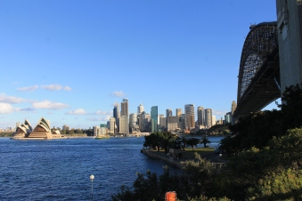 Opera House, CBD und Harbour Bridge
