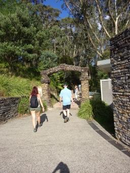 Beginn Three Sisters Walk